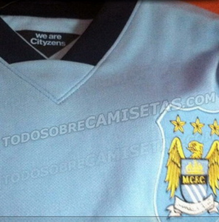 camiseta nueva del city