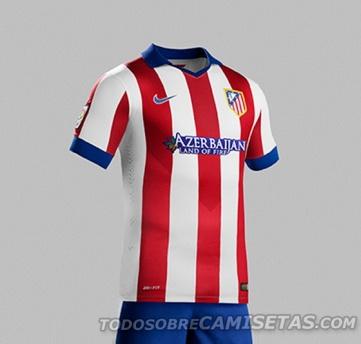 camiseta Atletico de Madrid 2015 - Comprar camisetas de futbol 2014 baratas